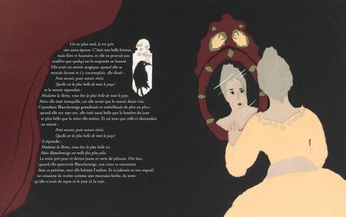 Sara artalapage for Miroir magique blanche neige